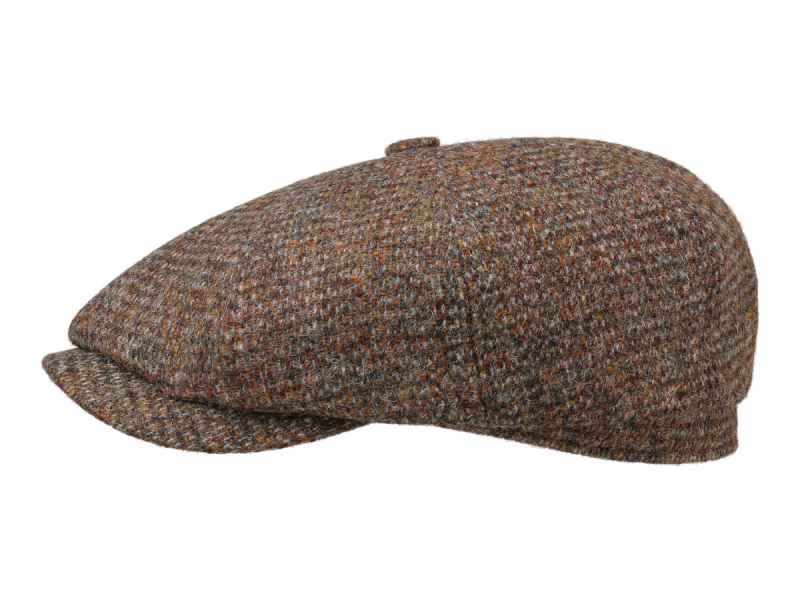 Stetson Hatteras Harris Tweed