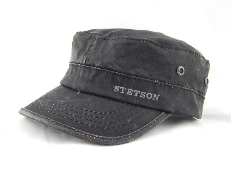 Stetson Schirmmütze Army Cap CO PE - Aralf Rinshout - Unique ... 786291208bf